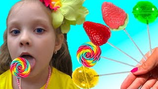 The Fruit Colors Song | Lisa Pretend Play Sing-Along Nursery Rhymes & Kids Songs | Lisa Kids Show