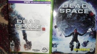 UNBOXING DEAD SPACE 3 XBOX 360 ESPAÑOL