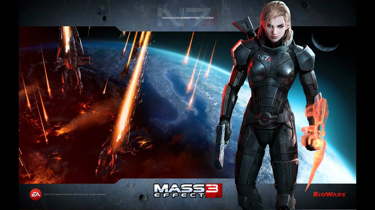 Mass Effect 3 Wallpapers Youtube