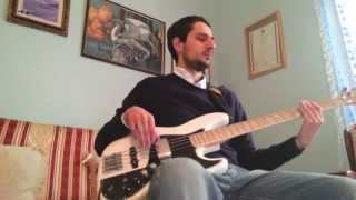 sirens pearl jam bass cover with bass tab