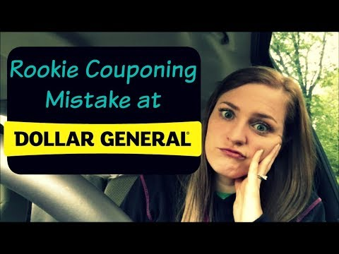 DON'T DO WHAT I DID! | ROOKIE COUPONING MISTAKE