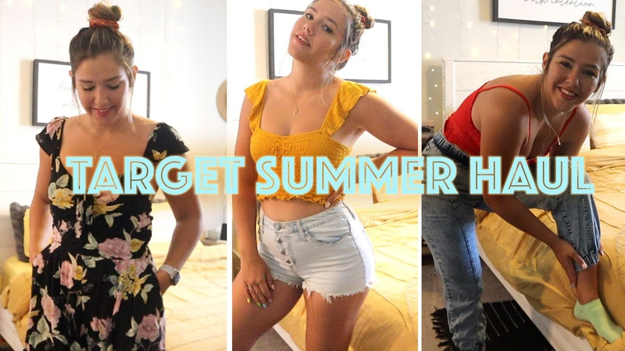 TARGET HAUL | SUMMER OUTFIT IDEAS UNDER $25! 9