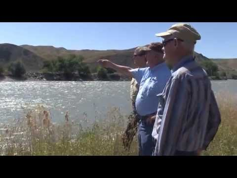 Tracking where William Clark crossed the Yellowstone River