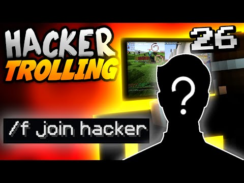 Minecraft HACKER TROLLING - BEFRIENDING A HACKER ON ALT!! -