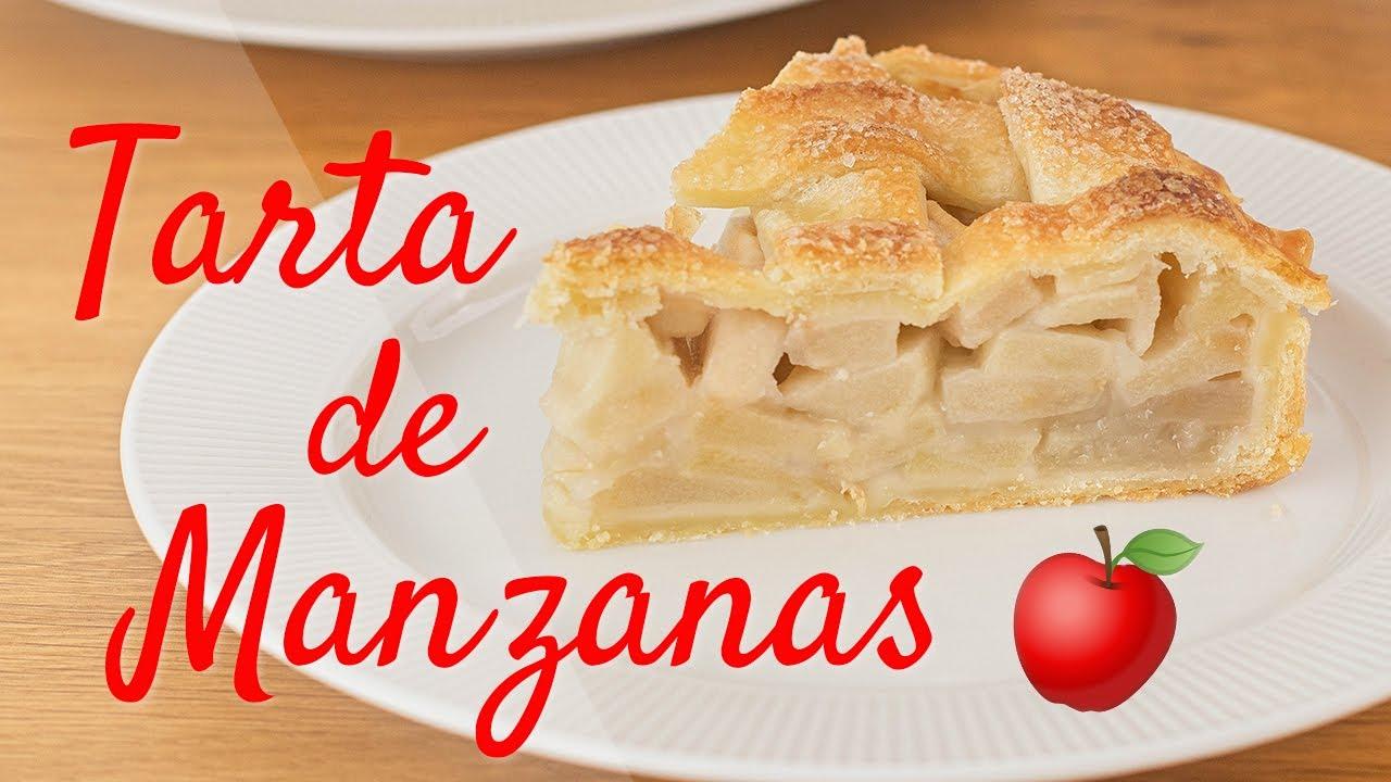 TARTA DE MANZANA FÁCIL - Tan Dulce