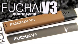 FUCHAI V3 AIO Vape Pod System by SIGELEI ~ALL IN ONE VAPE POD SYSTEM REVIEW~