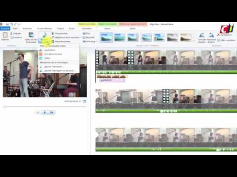 Video's bewerken met Windows Movie Maker (3): Geluid toevoegen, en exporteren