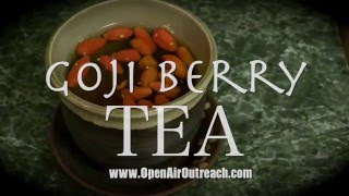 Goji Berry Tea: How to Make it & Why You Should | Jesse Morrell(Jesse Morrell of www.OpenAirOutreach.com shares about God's wonderful creation - the Goji Berry! This berry has many health benefits, as explained in this ..., 2015-12-27T20:57:41.000Z)