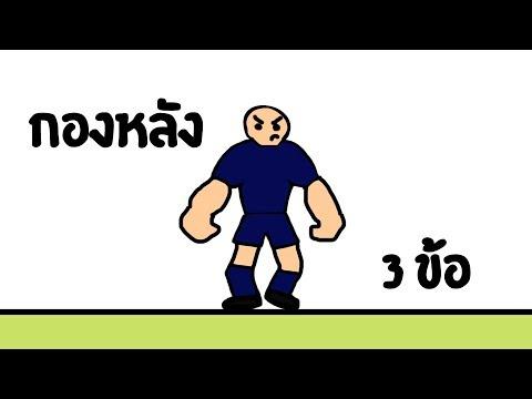 หน้าที่กองหลัง 3 วิธีเล่นกองหลังให้เก่ง (สอนฟุตบอล ฟุตซอลเพื่อบอลไทย)
