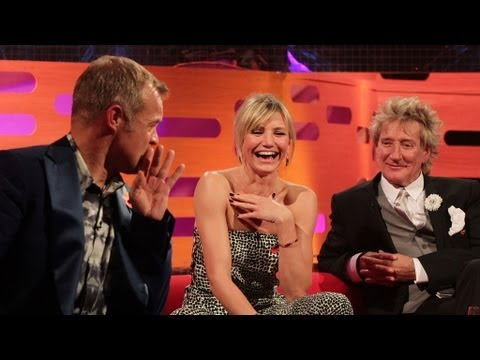 Cameron Diaz demonstrates lassoing - The Graham Norton Show - BBC One