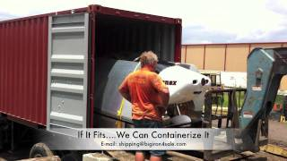 Sonex Aircraft Containerization
