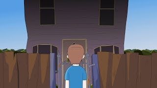 Creepy Neighbor Horror Story Animated
