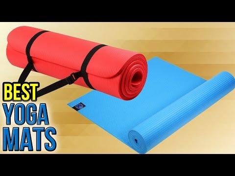10 Best Yoga Mats 2017