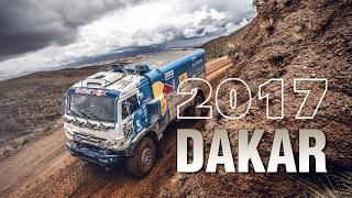 Команда 'КАМАЗ-мастер' на ралли 'Дакар'-2017