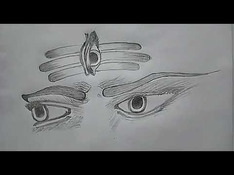 How To Draw Lord Shiva Face Lord Shiva Face Pencil Sketch By Sachin Yogesh Hub Youtube