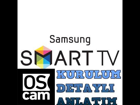 Samsung Smart TV OSCAM kurulumu