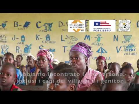 Le scuole in Liberia 2016
