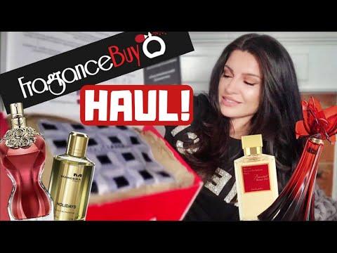 FRAGRANCEBUY.CA PERFUME HAUL, NEW FRAGRANCES & 1st IMPRESSIONS #fragrancebuy #oohlarouge