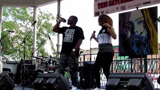 The Overts (fka M.O.G. x Mello Renee) - We Wit It (Live Performance)