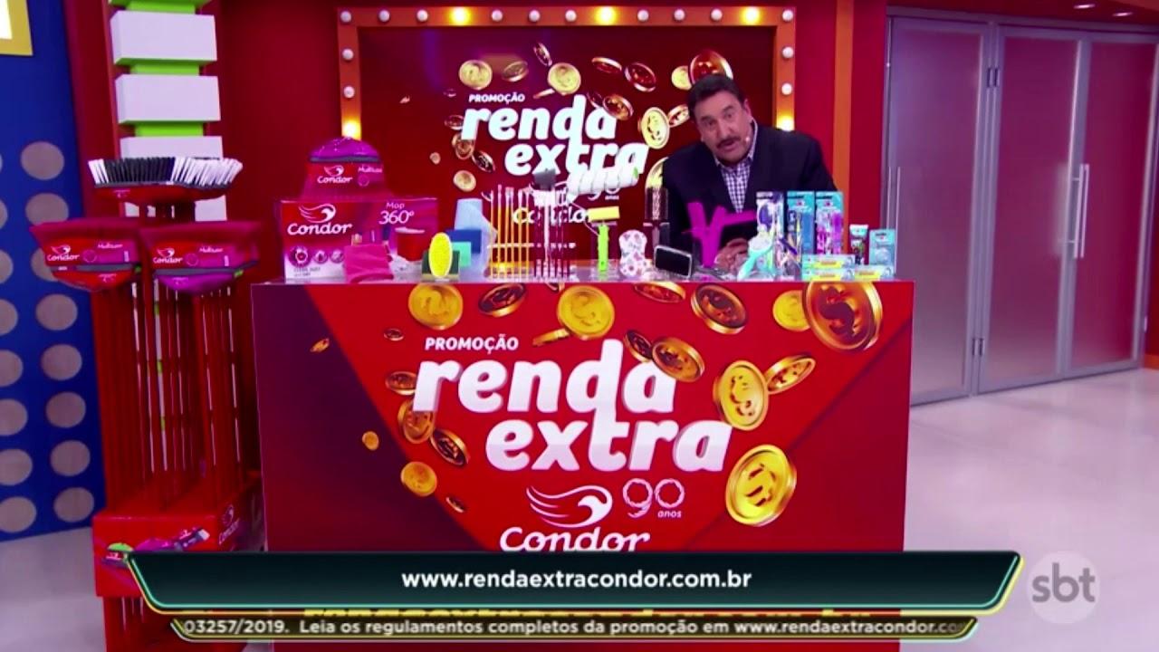 Condor | Promoção Renda Extra | vídeocase