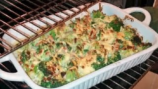 How To Make Low Carb Broccoli, Ham And Dijon Au Gratin