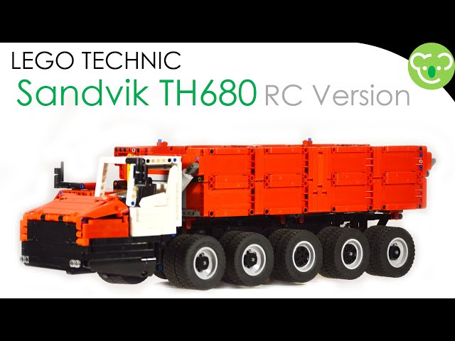 Sandvik TH680 RC version - MOC LEGO Technic powered with Buwizz