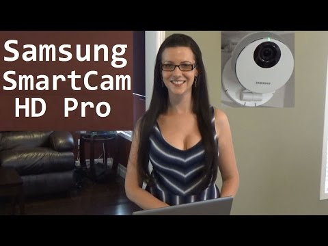 Samsung SmartCam HD Pro Wireless IP Camera Home Automation