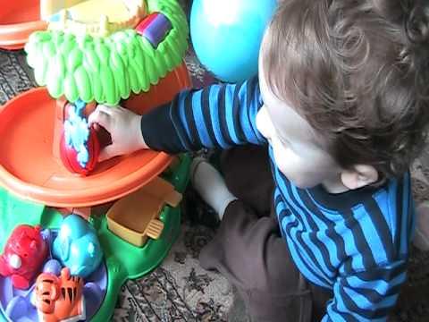 Fisher-Price Amazing Animals Rollin' Around Jungle Playground