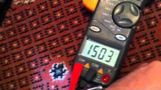 Resistance Testing solenoid on gas valve - baxi solo 2