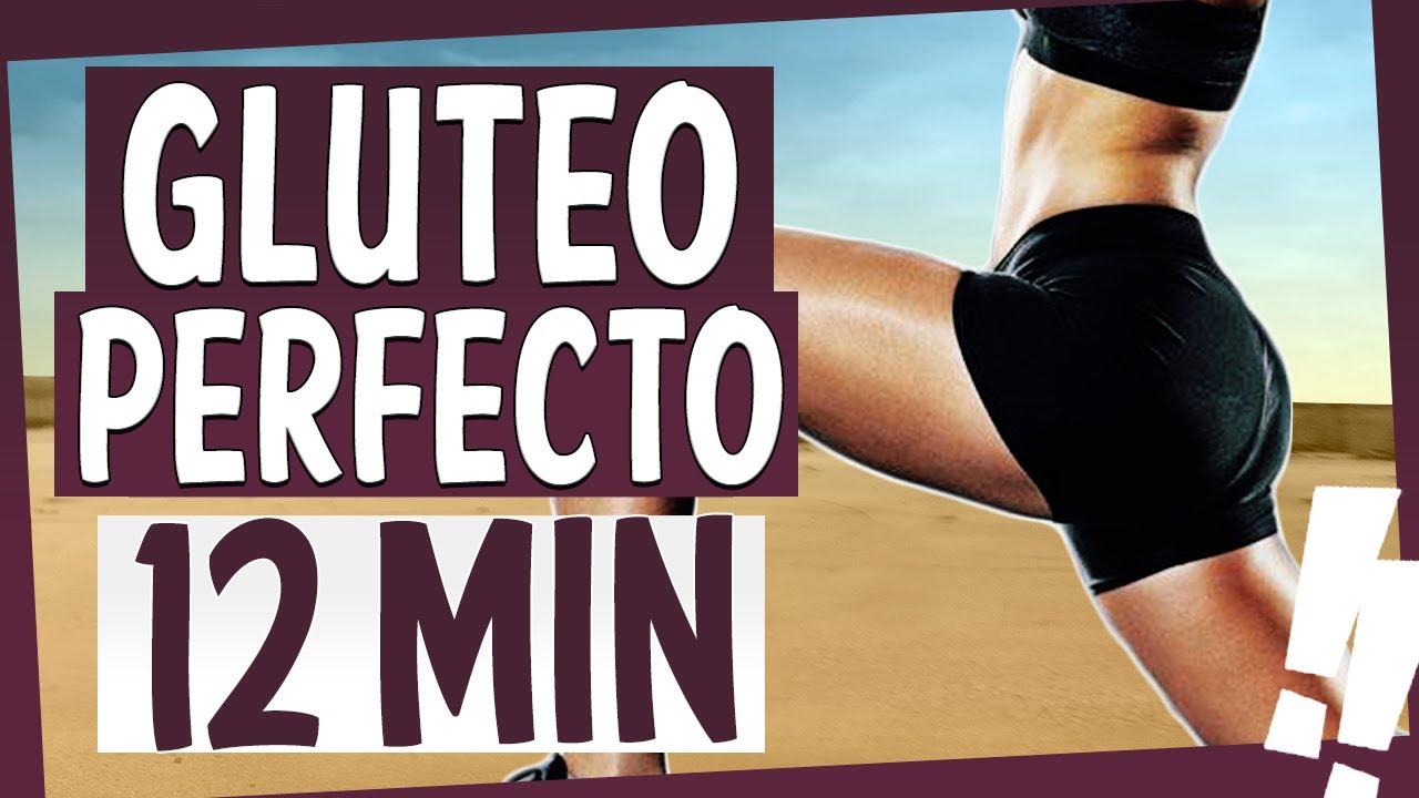 Rutina INTENSA GLÚTEOS PERFECTOS 🍑 HIIT TABATA 12 Minutos [ANRHIIT]