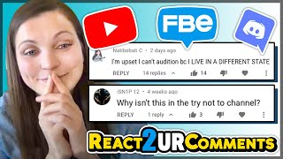 We React To Your Comments | FBE Channel Update/Q&A May 2020