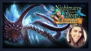 [ Nightmares from the Deep 2: The Siren`s Call ] Hidden Object Game (Full playthrough)
