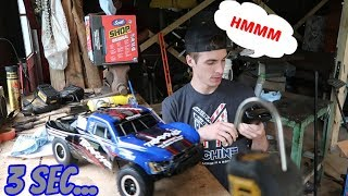 How To Crash a New RC Car in 3 Seconds