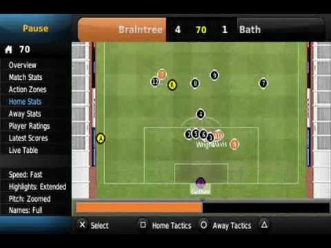 Football Manager Handheld 2012 - Braintree Season 1: Final BSP Match & Stuff