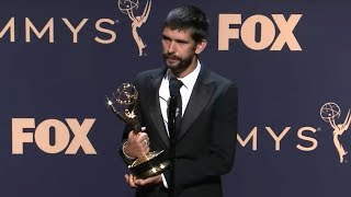 Ben Whishaw - A Very English Scandal | Emmys 2019 Full Backstage Interview