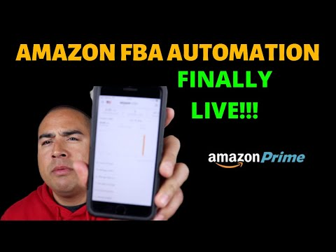 Amazon FBA Automation | Officially LIVE!!! | Official SALES!!! thumbnail