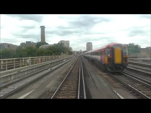 Gatwick Airport to London Victoria, Class 442 | *DRIVERS EYE VIEW*