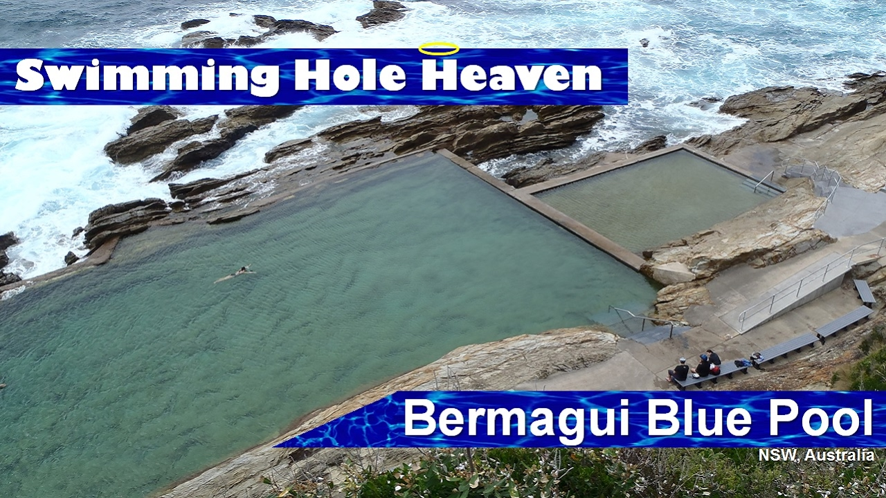 Swimming In The Bermagui Blue Pool In New South Wales At Sunrise Youtube