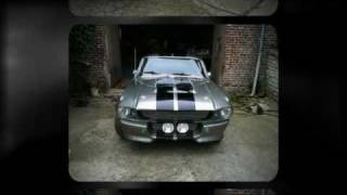 Ford Mustang fastback 67 shelby GT500 Eleanor clone