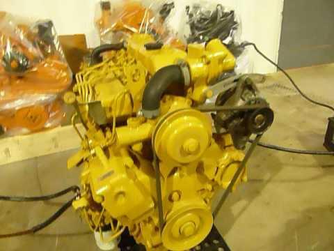 Fully Rebuilt Cat Engine