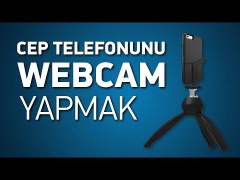 Telefonu Webcam'e çevirmek / DroidCam vs iVCam