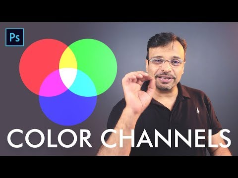 Color Channels and difference between RGB and CMYK Urdu / Hindi