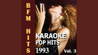And Our Feelings (Originally Performed by Babyface) (Karaoke Version)