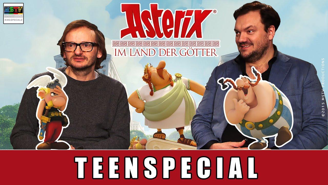 Asterix im Land der Götter - Special zum Film | Milan Peschel | Charly Hübner