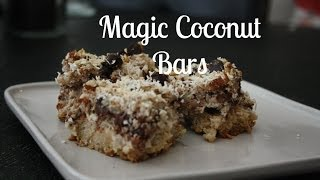 Sugar And Spice Holiday Collab Day 20- Magic Coconut Bars (paleo)