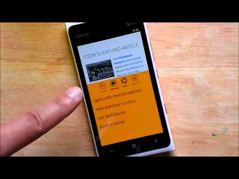 Wikipedia for Windows Phone review