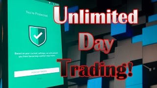 Robinhood APP - Unlimited DAY TRADING with $25,000 DIVIDEND Stock Portfolio!