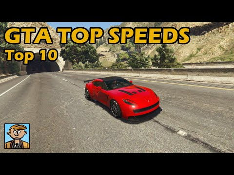 Top 10 Fastest Cars (2019) - GTA 5 Best Fully Upgraded Cars Top Speed Countdown thumbnail