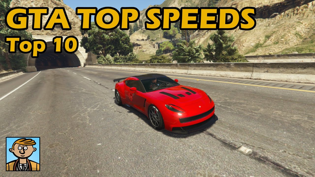 Top 10 Fastest Cars 2019 Gta 5 Best Fully Upgraded Cars Top