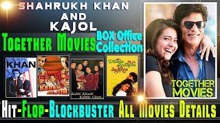 Shahrukh Khan and Kajol Together Movies | Shahrukh Khan and Kajol Hit and Flop Movies List.
